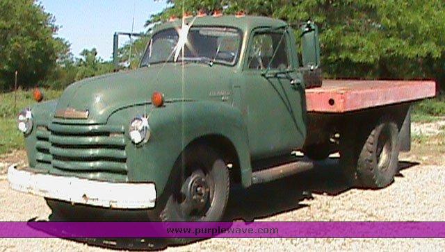 1949 Chevrolet 4100 Dump Truck Item 1700 Sold June 16 M