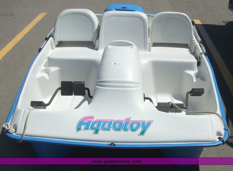 Aqua Toy Four Person Paddle Boat Item 2069 Sold June