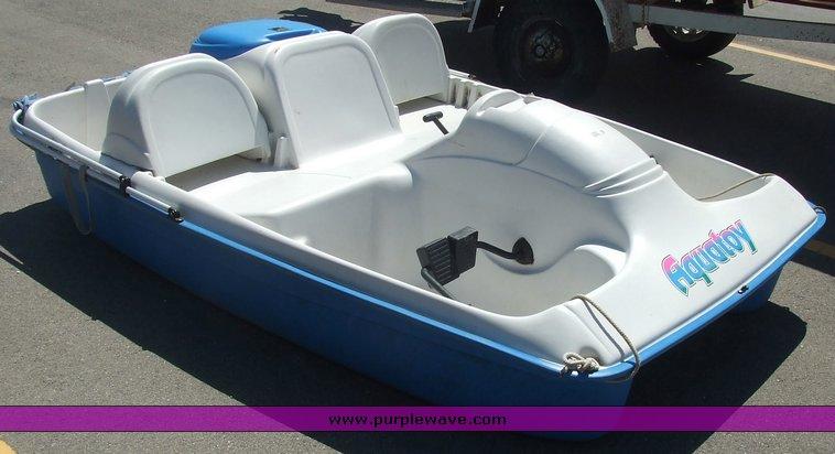 Aqua Toy four-person paddle boat in Manhattan, KS | Item 2069 sold
