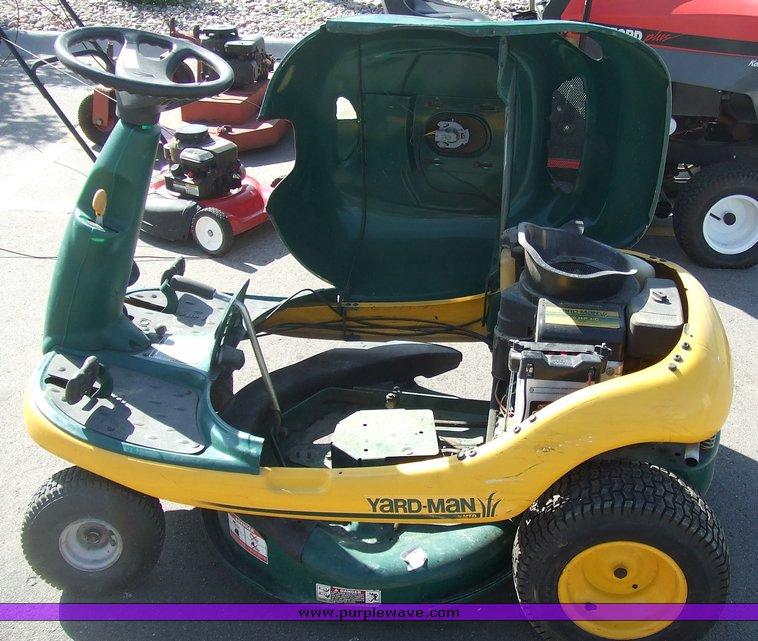 Yard Man Yard Bug Mower Item 2074 Sold June 16