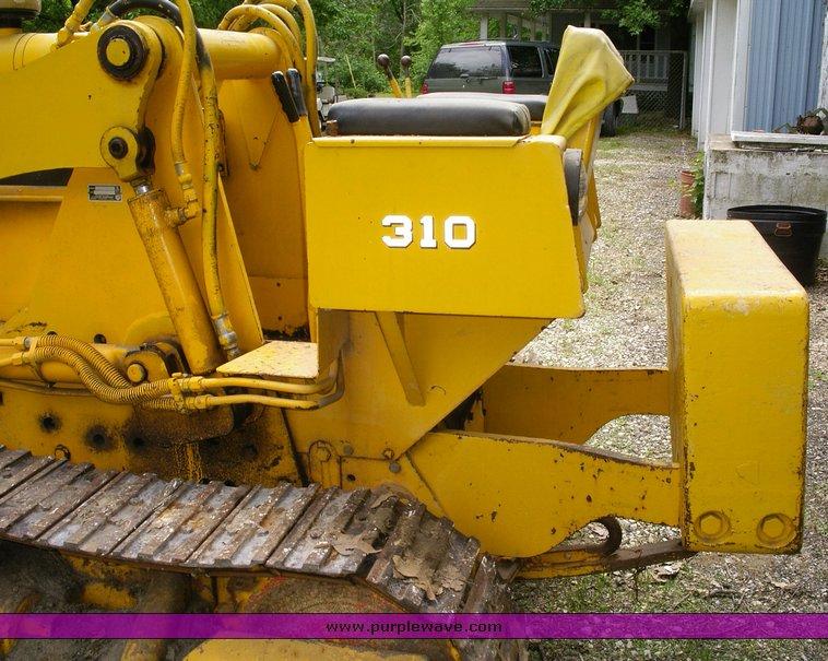 Case 310G crawler loader   Item 1500   SOLD! June 29 Constru