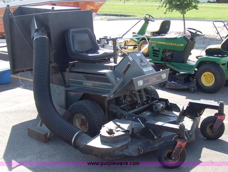 grazer g1890 riding mower item 2105 sold june 29 midwes rh purplewave com Grazer Mower Parts Diagram grazer mower parts diagram