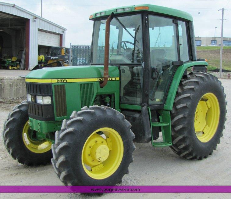 3356 image for item 3356 John Deere 6410 MFWD tractor