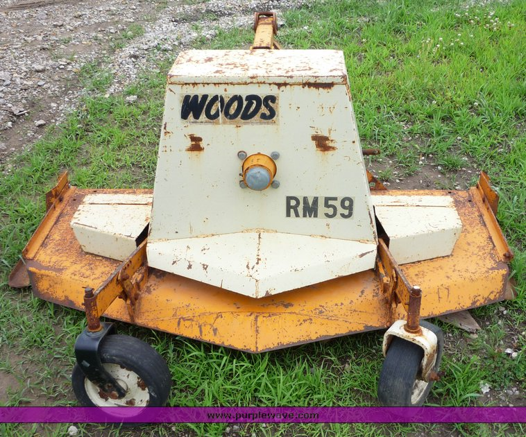 Woods RM59 grooming mower | Item 6571 | SOLD! June 30 Ag Equ