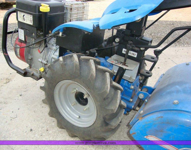 BCS 722 Harvester rear tine tiller | Item 6588 | SOLD! June