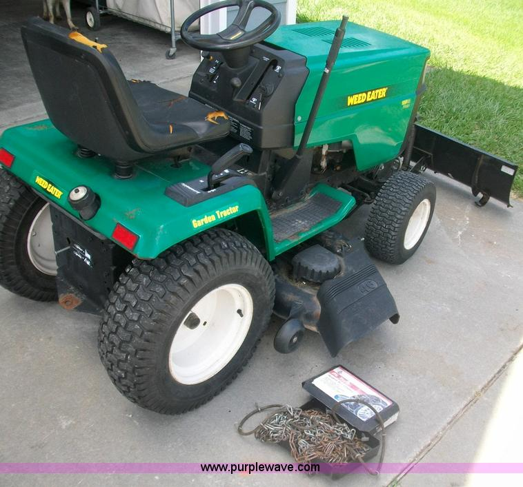weed eater lawn tractor. 1019 image for item weed eater 46\ lawn tractor