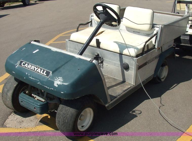 Ingersoll rand club car carryall manual golf cart array ingersoll rand carryall club car item 2103 sold july 14 rh purplewave com fandeluxe Gallery