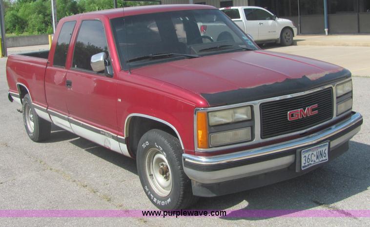 1991 Gmc Sierra >> 1991 Gmc Sierra C1500 Pickup Truck Item 4633 Sold July