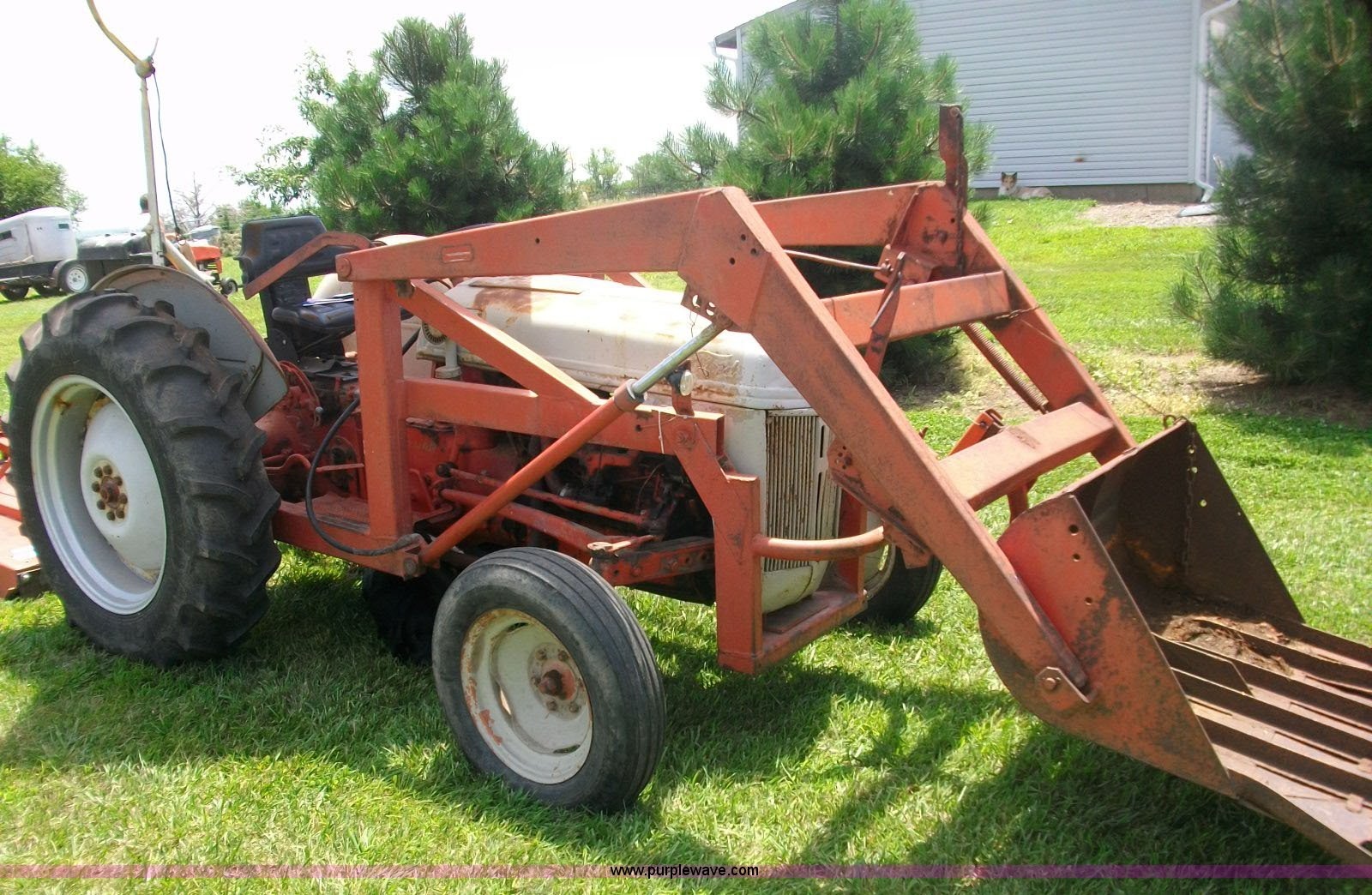 Ford 8n Tractor With Loader In Wamego Ks Item 1002 Sold Purple Wave