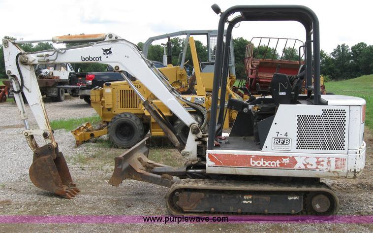 1997 Bobcat 331 mini excavator   Item 2123   SOLD! July 29 C