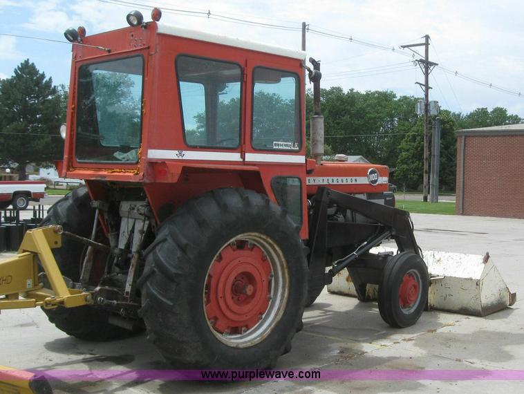 1965 Massey-Ferguson 1100 tractor with loader | Item 6865 |