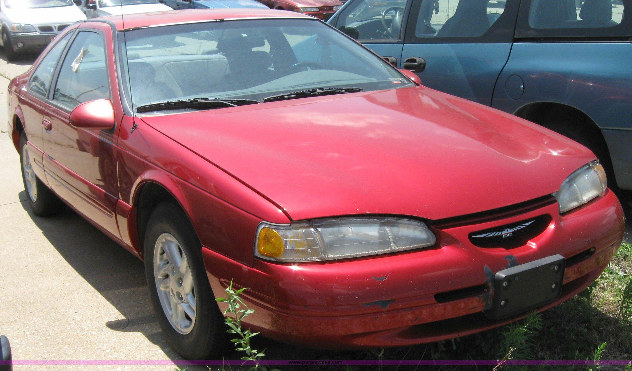 1996 Ford Thunderbird Lx 4 6l V8 Fi Sohc 16v Item 2190 S