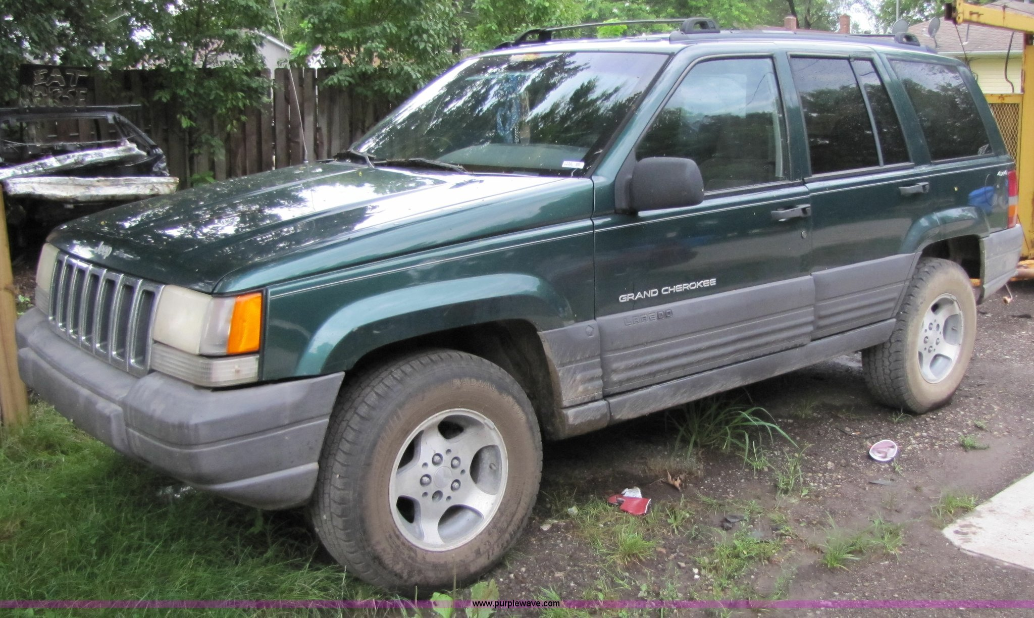 1996 jeep grand cherokee laredo   item 7152   sold! august 1
