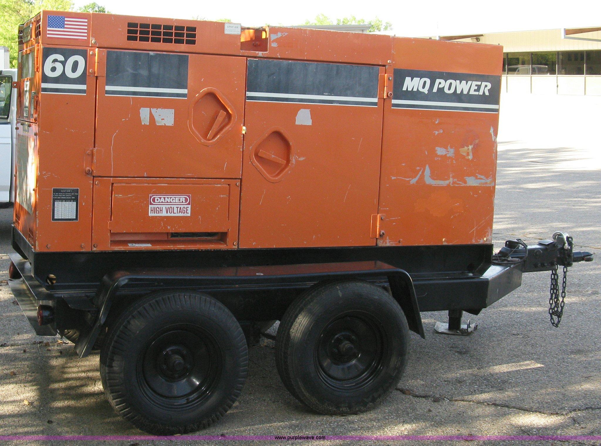 Multi Quip Whisperwatt MQ Power 60 mobile generator