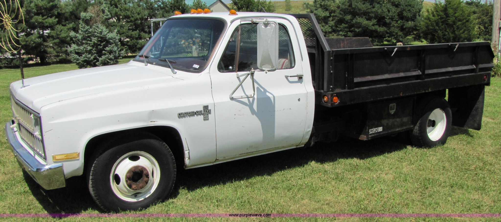 All Chevy c30 chevy : 1982 Chevrolet C30 Custom Deluxe dump bed truck | Item 7238 ...
