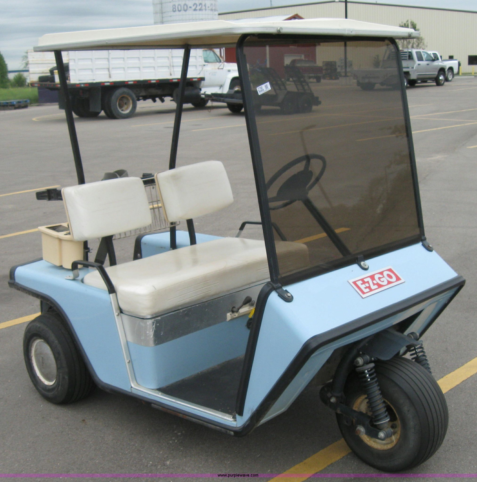 EZ-GO Textron electric golf cart | Item 2790 | SOLD! Septemb... on fox golf carts, carryall golf carts, used golf carts, easy go golf carts, custom golf carts, toro golf carts, gmc golf carts, sears golf carts, nissan golf carts, mitsubishi golf carts, electric golf carts, isuzu golf carts, arctic cat golf carts, 2015 golf carts, yamaha golf carts, john deere golf carts, cool golf carts, jacobsen golf carts, suzuki golf carts, club car golf carts,