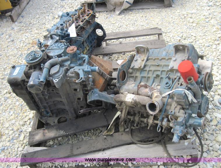 5) used Kubota parts engines   Item 4155   SOLD! September