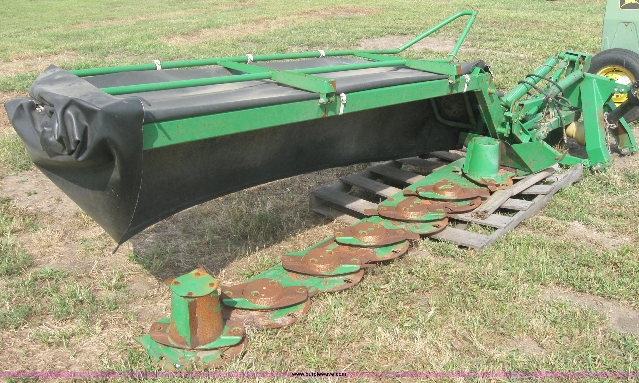 John Deere 275 disk mower | Item 2551 | SOLD! September 29 A