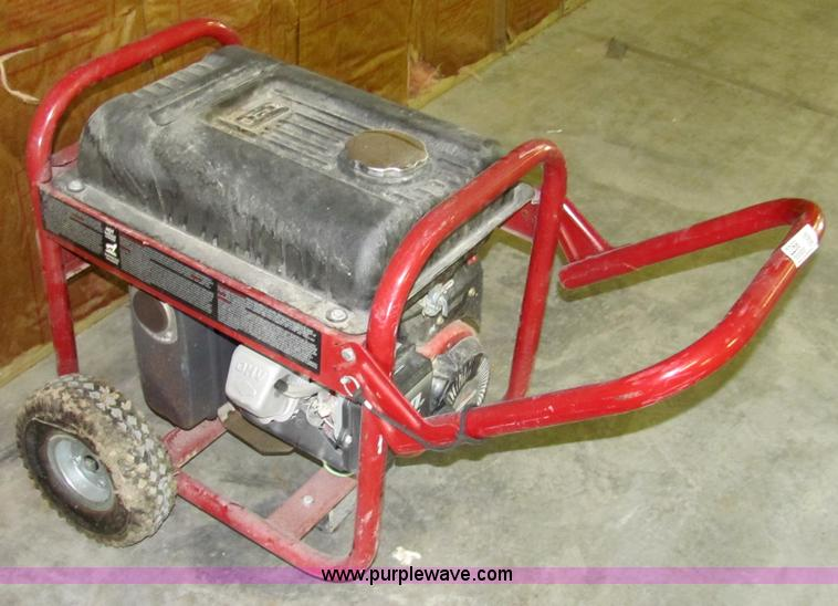 Coleman 4000 watt portable generator | Item 2266 | SOLD! Sep