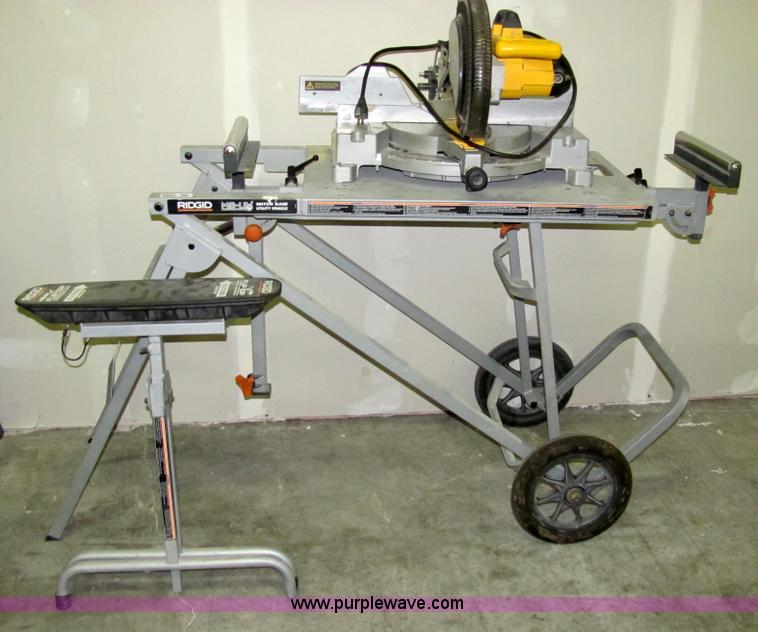 ridgid miter saw table. 2302 image for item rigid ms-uv miter saw utility stand ridgid table t