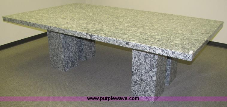 ... 5180 Image For Item 5180 Rockville Granite Conference Table