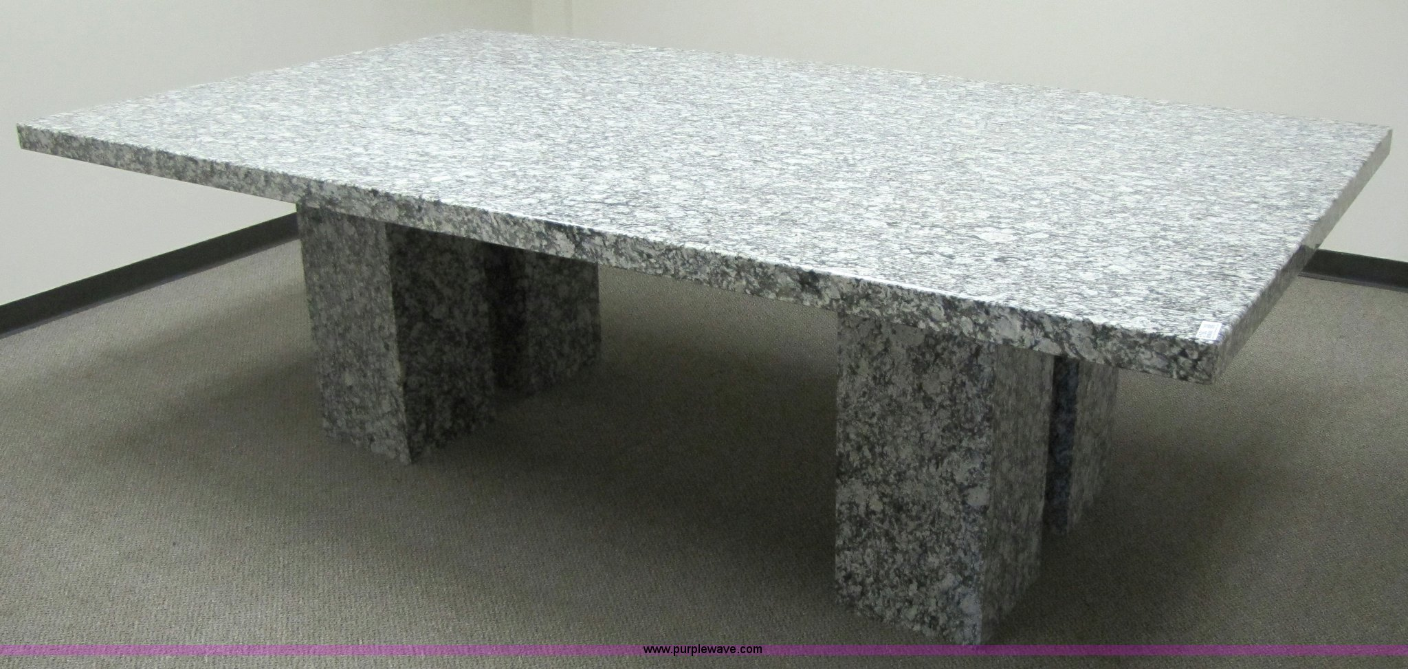 Rockville Granite Conference Table Item SOLD Septe - Granite conference table for sale