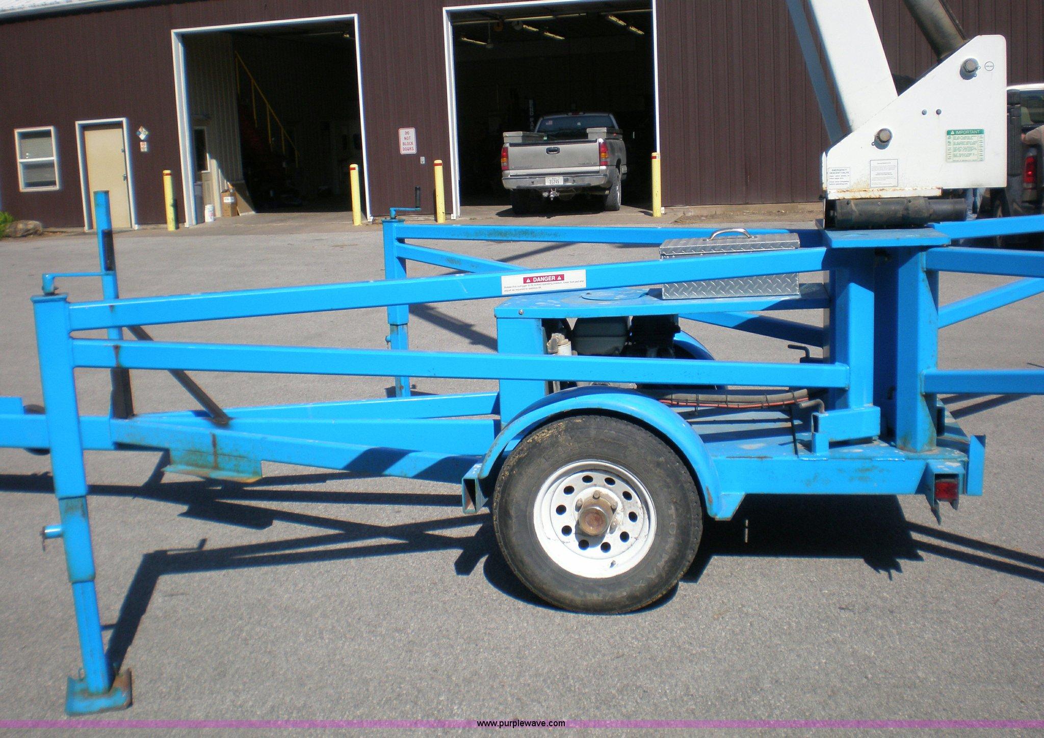 Eagle 2 45 Lift Wiring Diagram Detailed Schematics 1996 Gmc Sierra Trailer 1997 Ameriquip Boom Item 1460 Sold Octo Yukon
