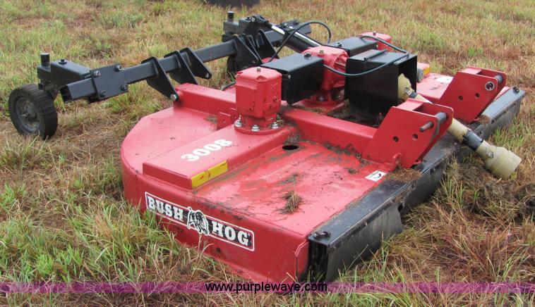 Bush Hog 3008 2 8 Mower Item 4871 10 13 2010
