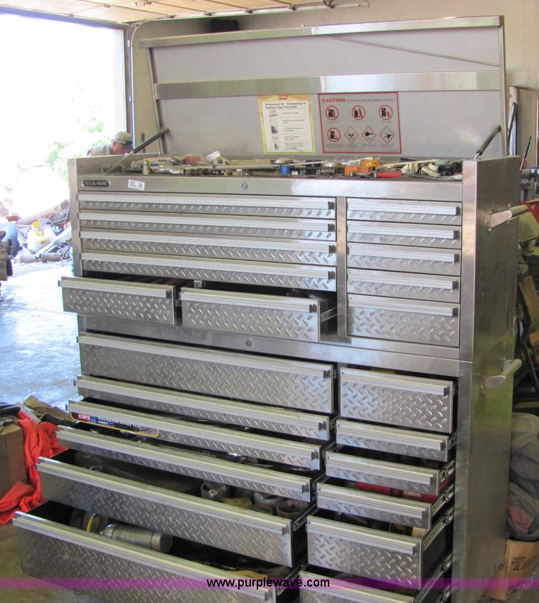 Professional Stainless Steel Tool Chest Item 4897 Sold
