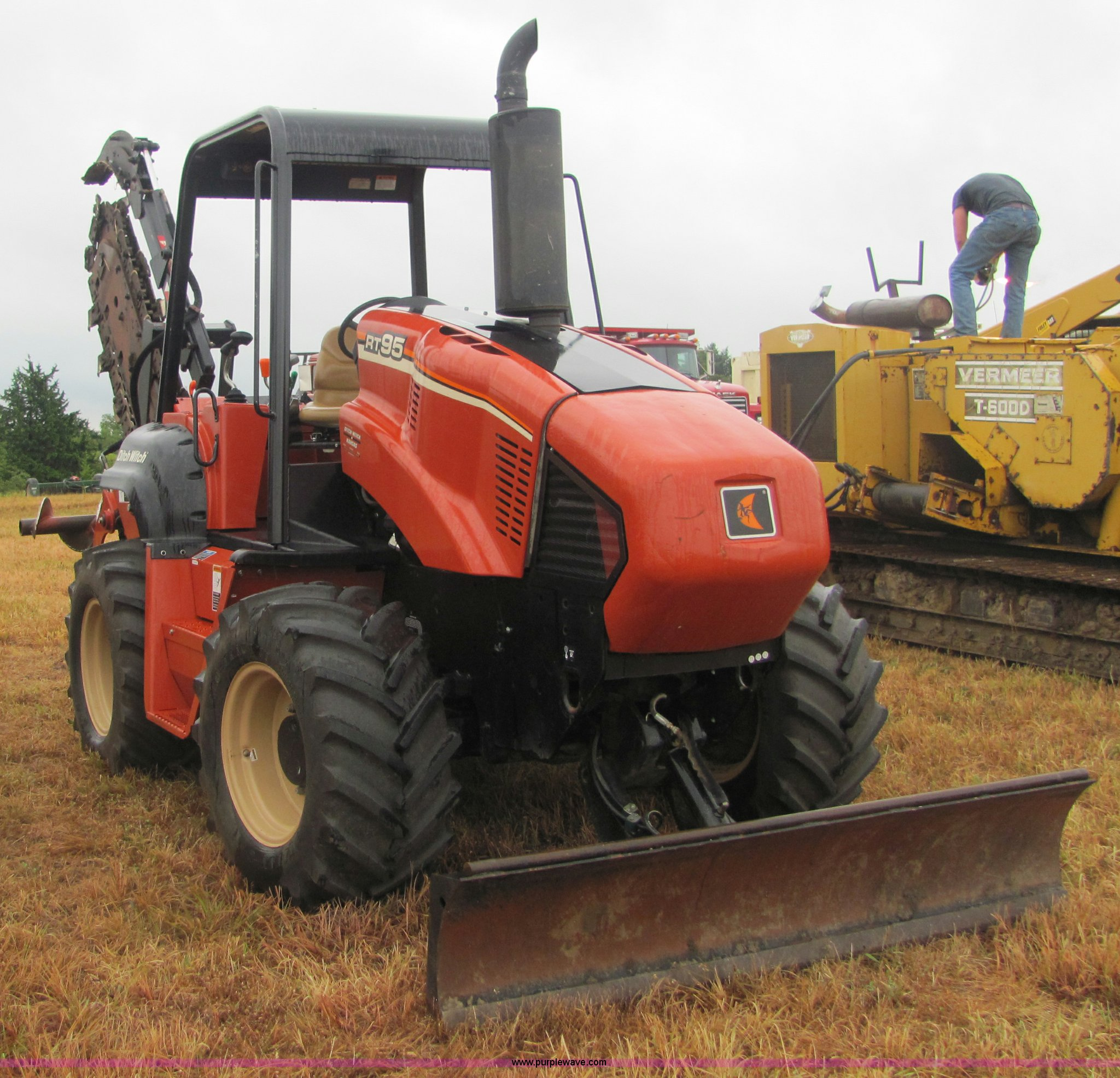 2008 Ditch Witch RT95 trencher | Item 4844 | SOLD! October 1... on
