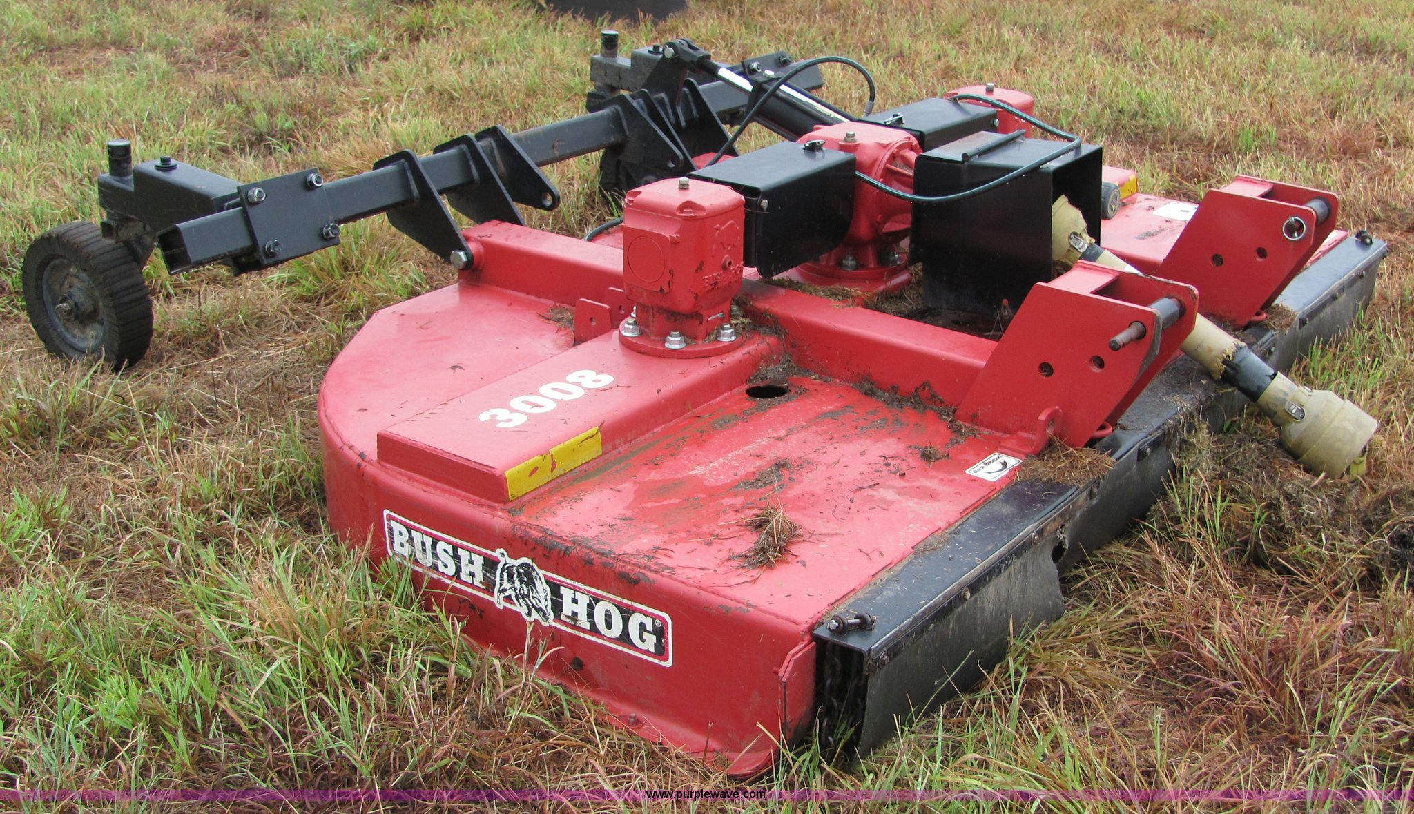 Bush Hog 3008 2 8 Mower Item 4871 Sold October 13 J