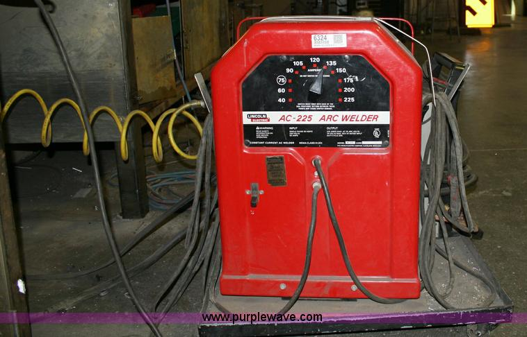 ac 225 lincoln welder. 6324 Image For Item Lincoln Electric AC-225 Arc Welder Ac 225 A