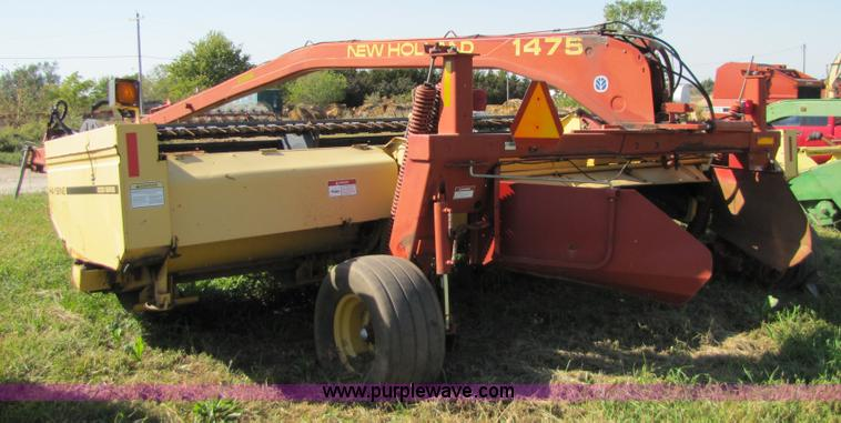 2000 New Holland 1475 18' sickle swather | Item 5153 | SOLD!