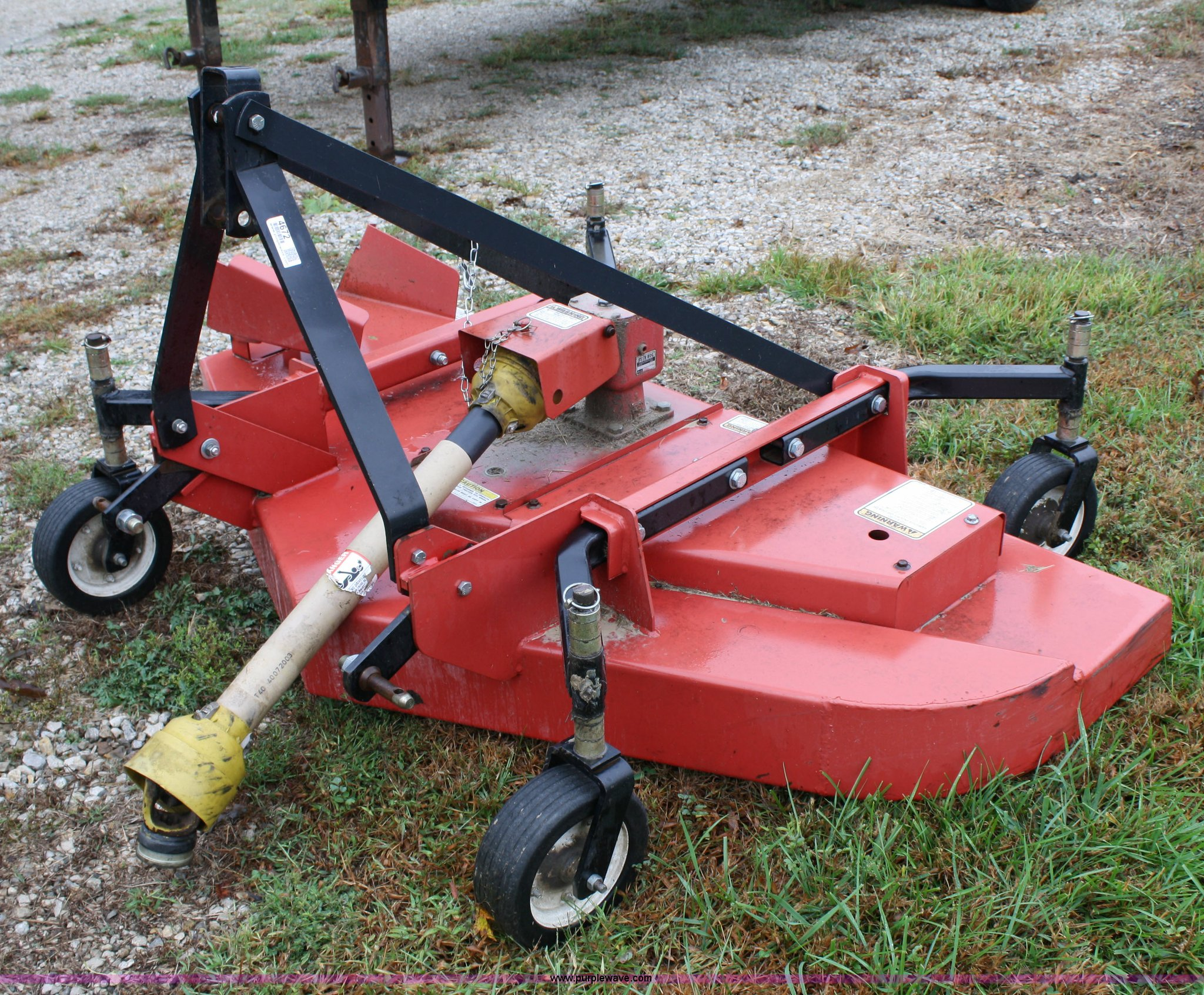 Bush Hog Ath720 Finish Mower Item 4672 Sold October