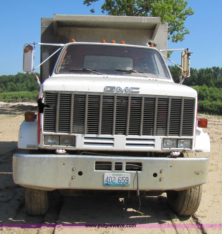 Gmc Topkick For Sale 4x4: 1981 GMC Topkick C7D064 Dump Truck