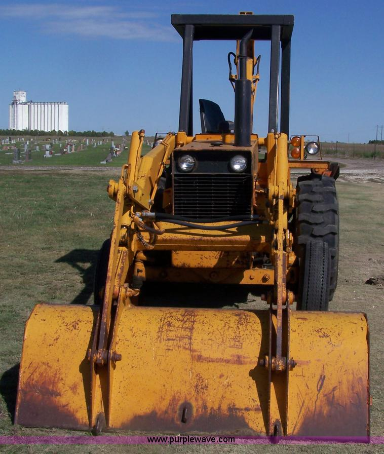 1974 Case 480b Construction King Backhoe