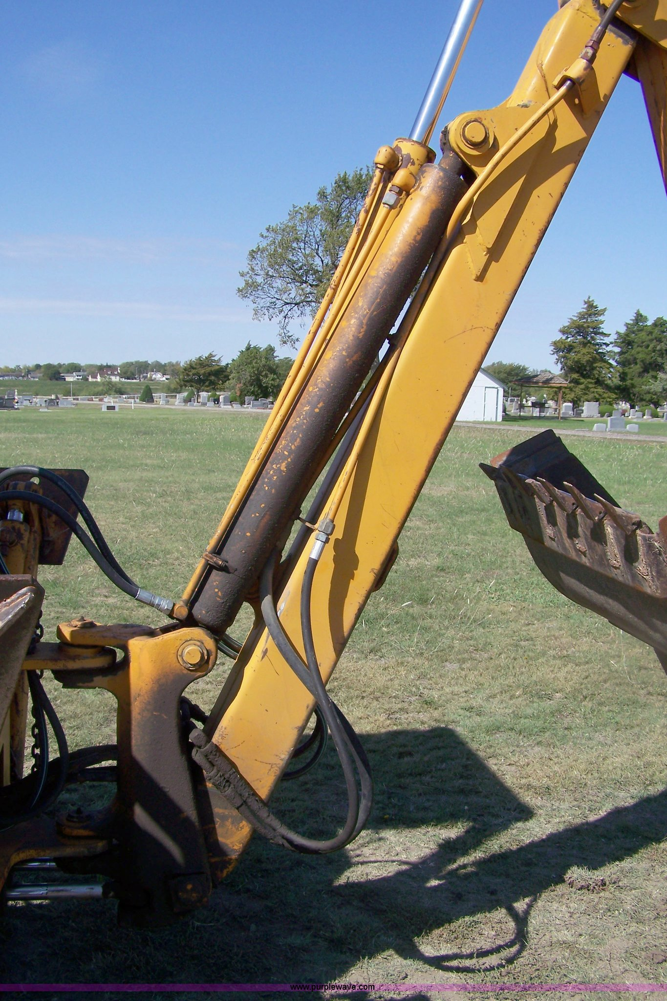 1974 Case 480b Construction King Backhoe