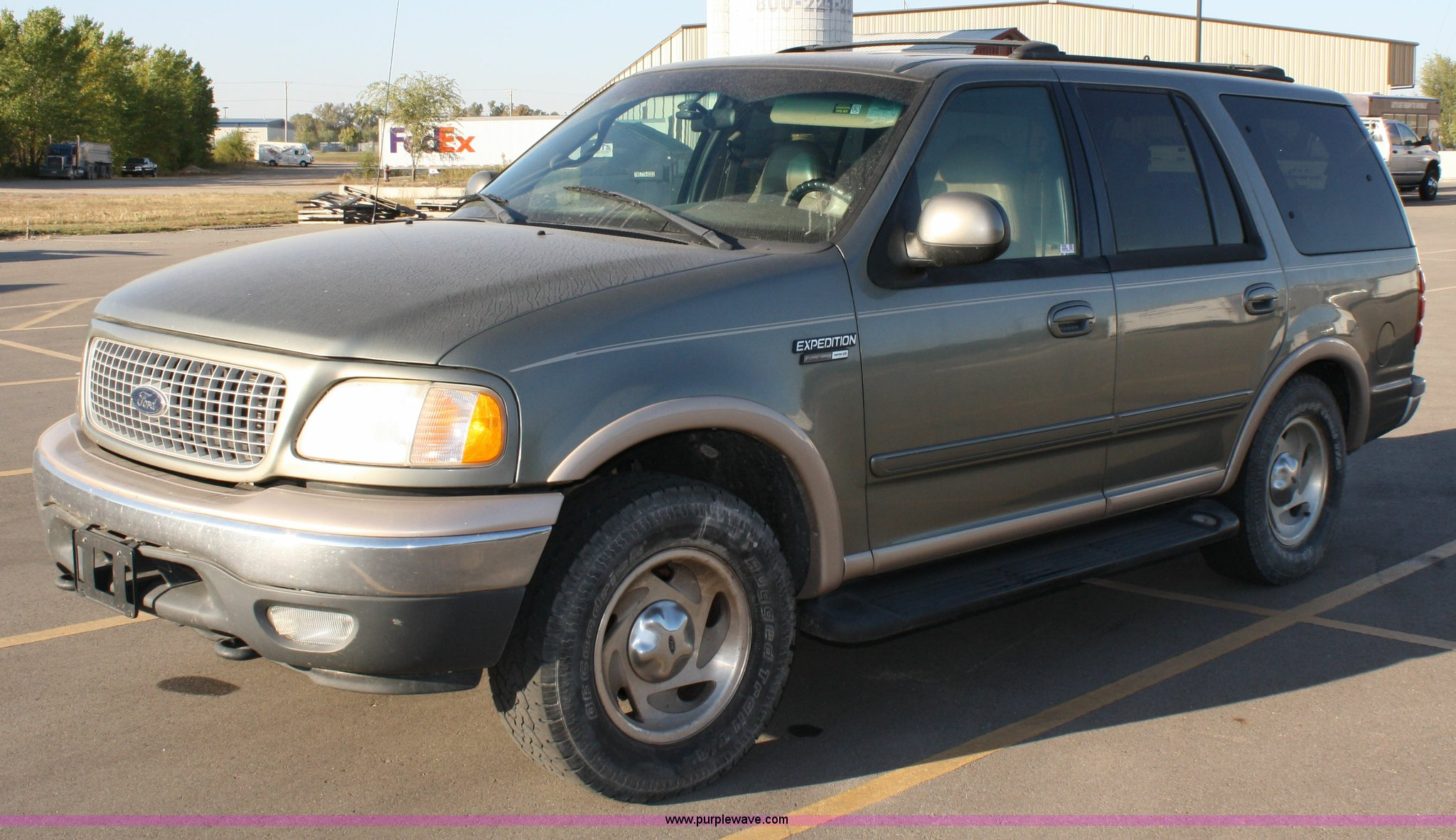 1999 ford expedition eddie bauer edition in manhattan ks item 4699 sold purple wave 1999 ford expedition eddie bauer