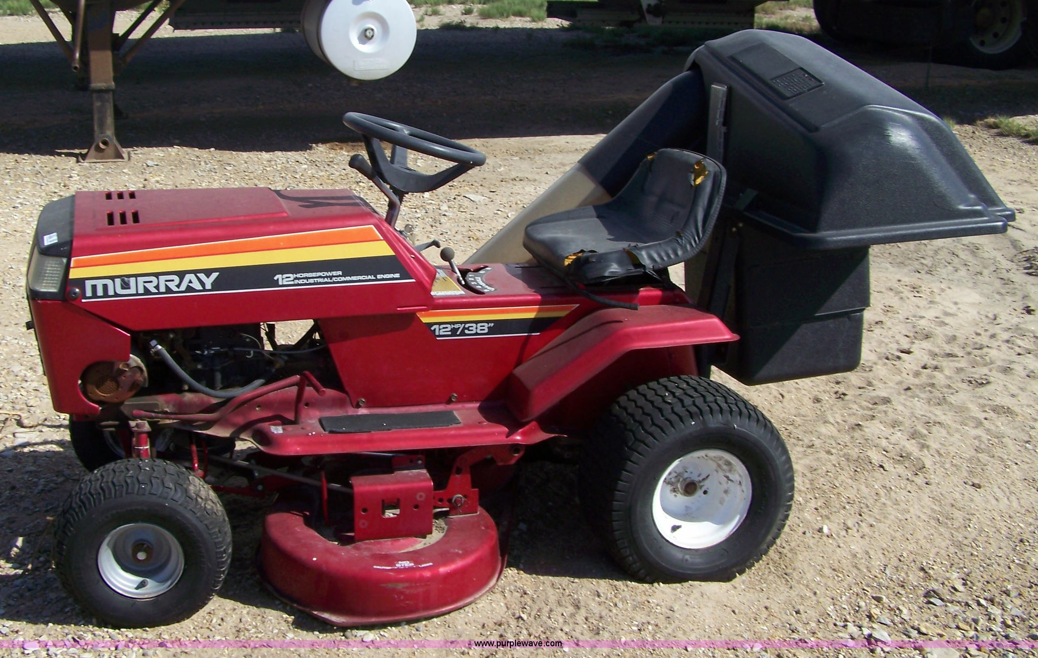 Murray Riding Mower Item 7422 Sold November 3 Midwest I
