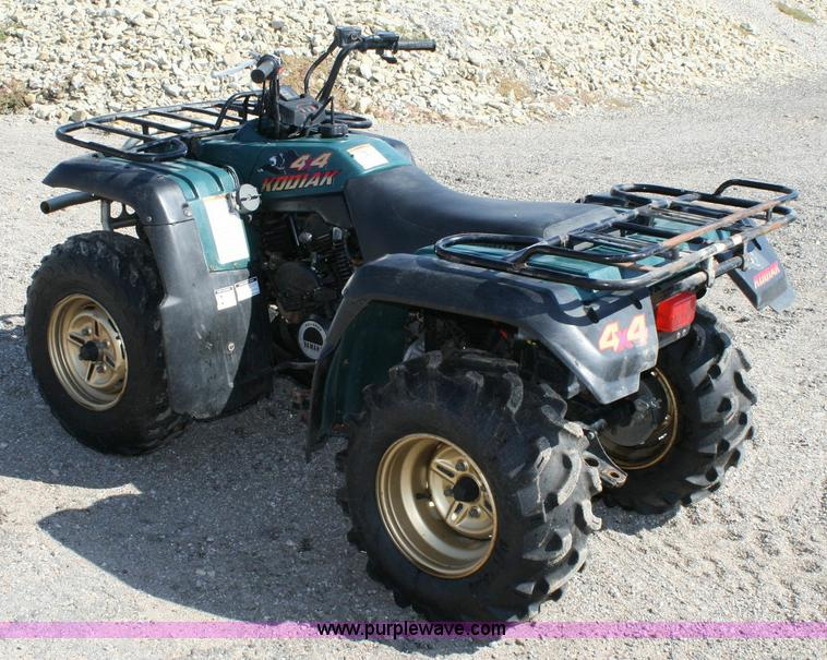 1995 yamaha kodiak 400 4x4 atv item 6407 sold