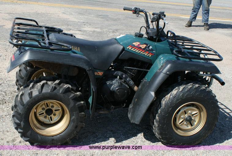 1995    Yamaha       Kodiak       400    4x4 ATV   Item 6407   SOLD
