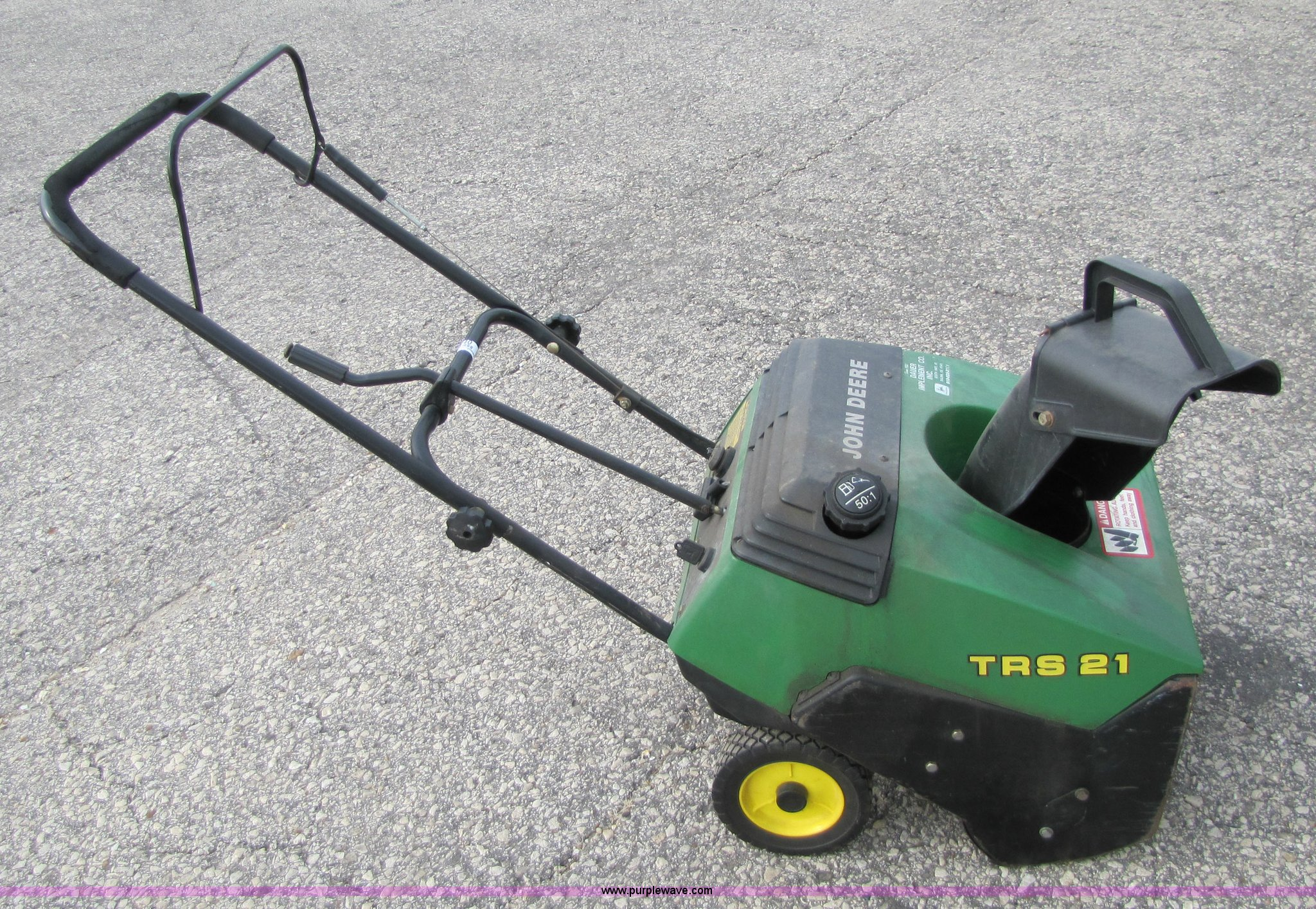 [SCHEMATICS_48IS]  John Deere TRS21 snow blower in Salina, KS | Item 5340 sold | Purple Wave | Trs21 Snowblower Parts Fuel Filter |  | Purple Wave