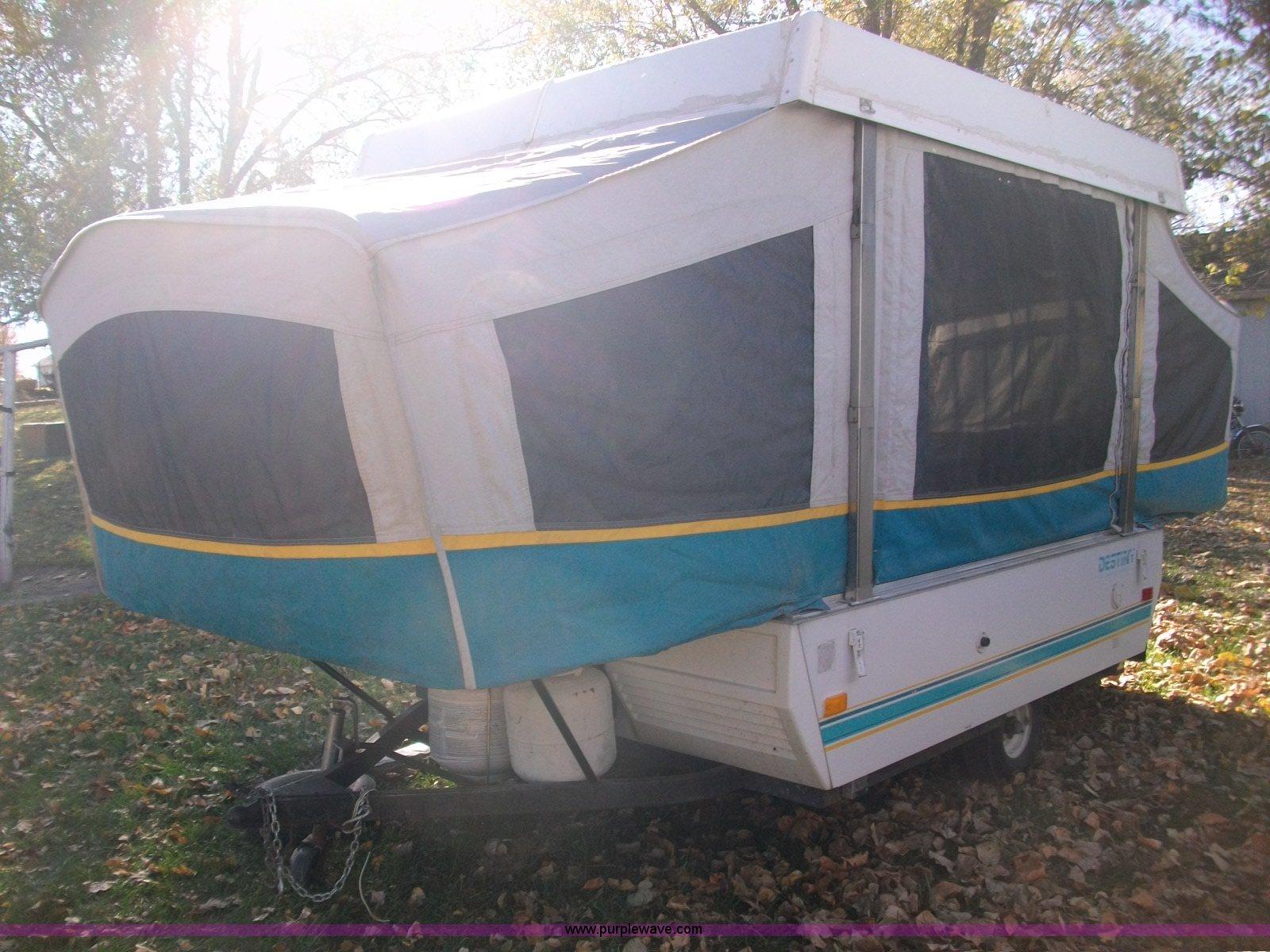 1560 image for item 1560 1994 fleetwood cedar coleman destiny camper