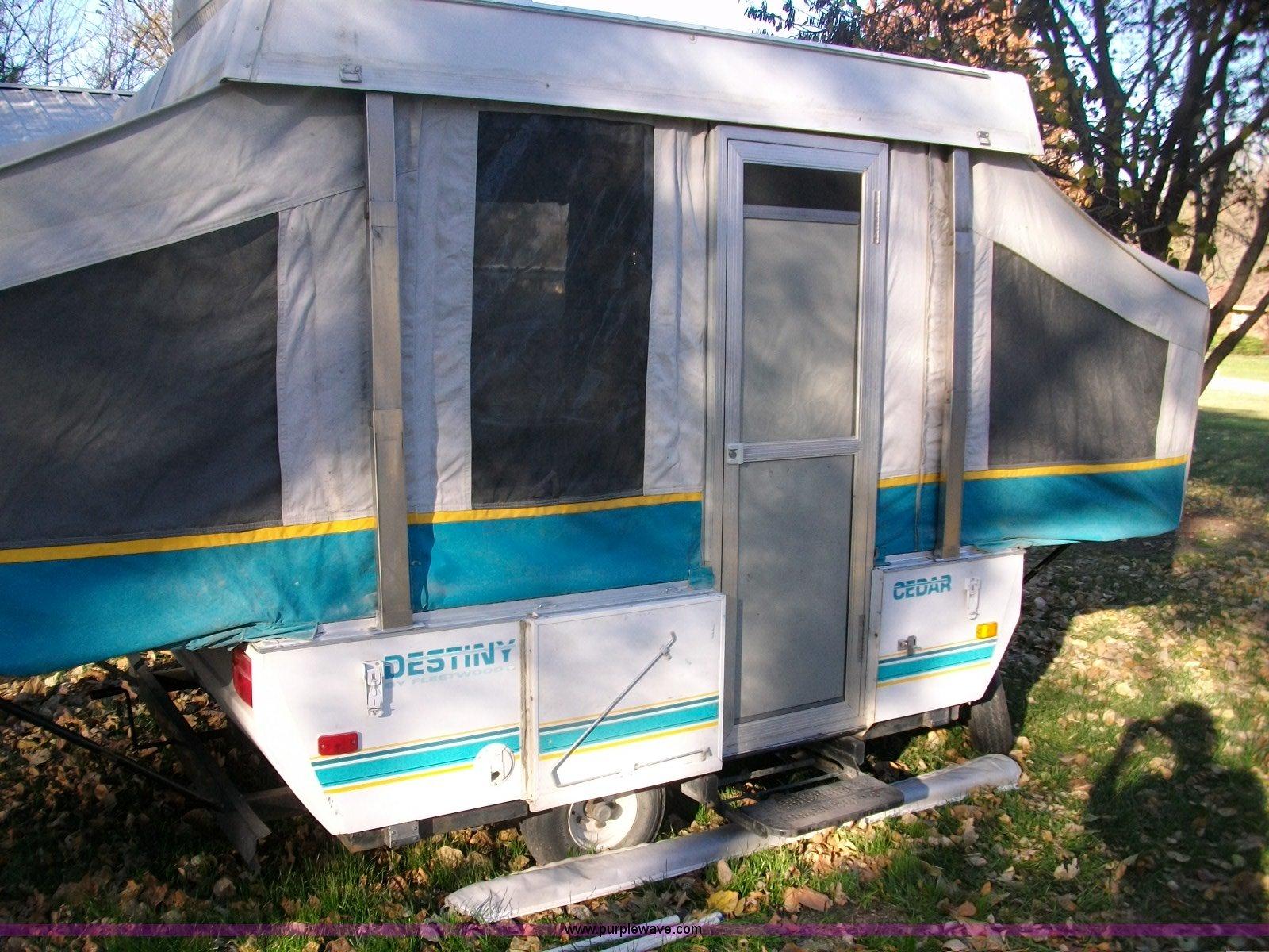 1994 Fleetwood Cedar Coleman Destiny Camper Item 1560 So Wiring Diagram Full Size In New Window