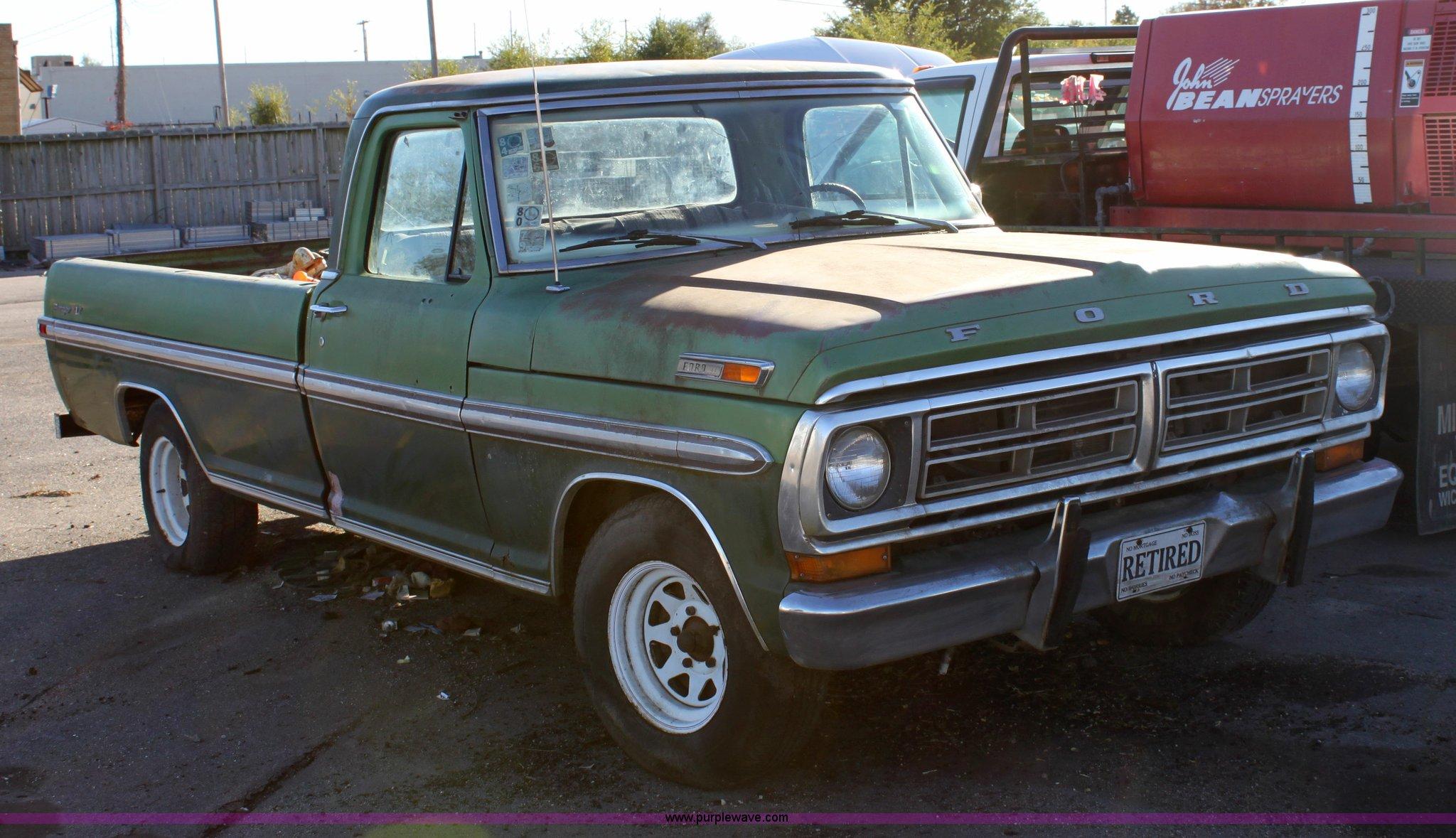 1972 ford ranger xlt pickup truck item 6260 sold. Black Bedroom Furniture Sets. Home Design Ideas