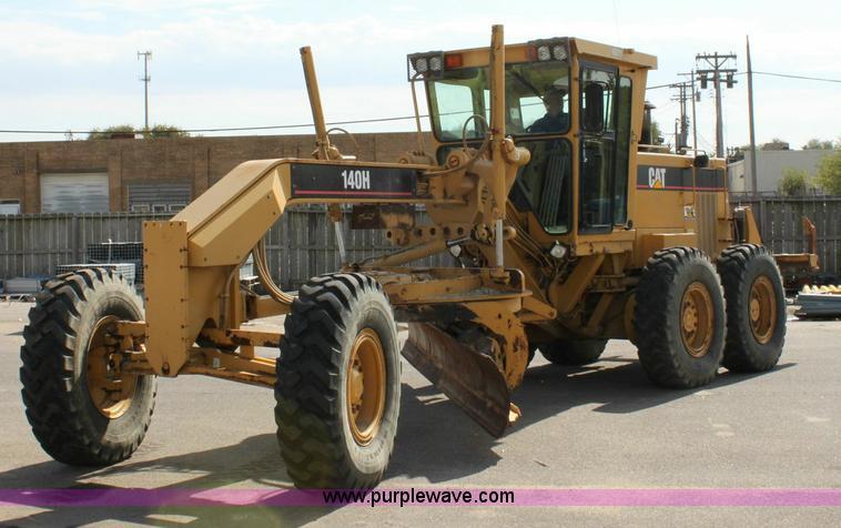 1995 Caterpillar 140h Motor Grader Item 6194 Sold Novem