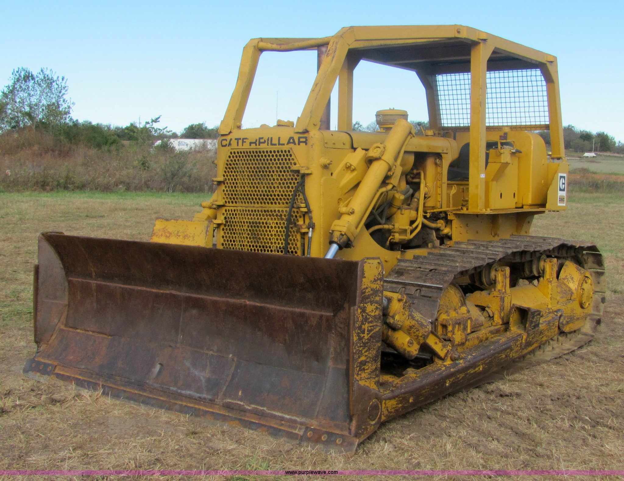1968 Caterpillar D6C dozer | Item 6667 | SOLD! November 18 C
