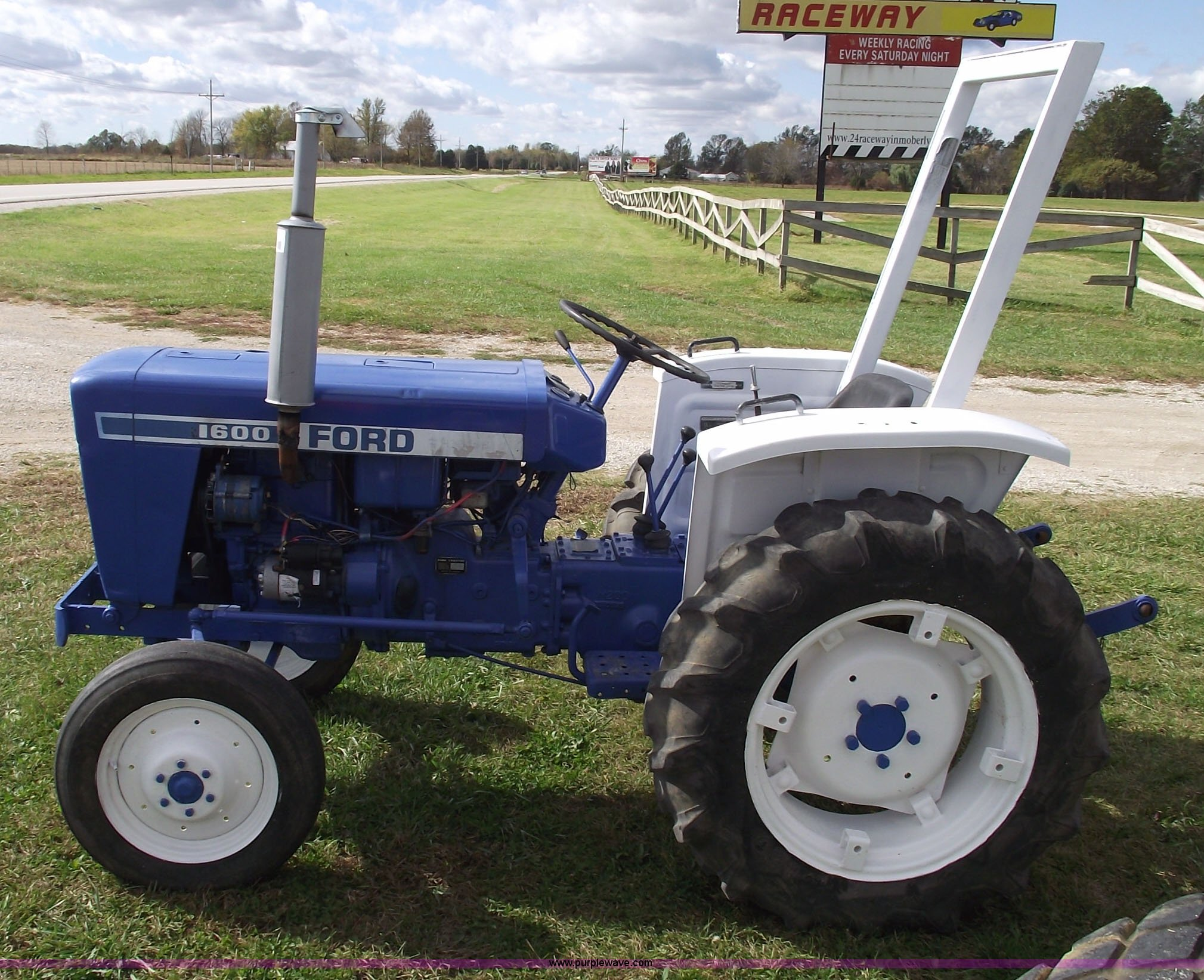 Ford Tractor Sayings : Ford a t tractor item sold november