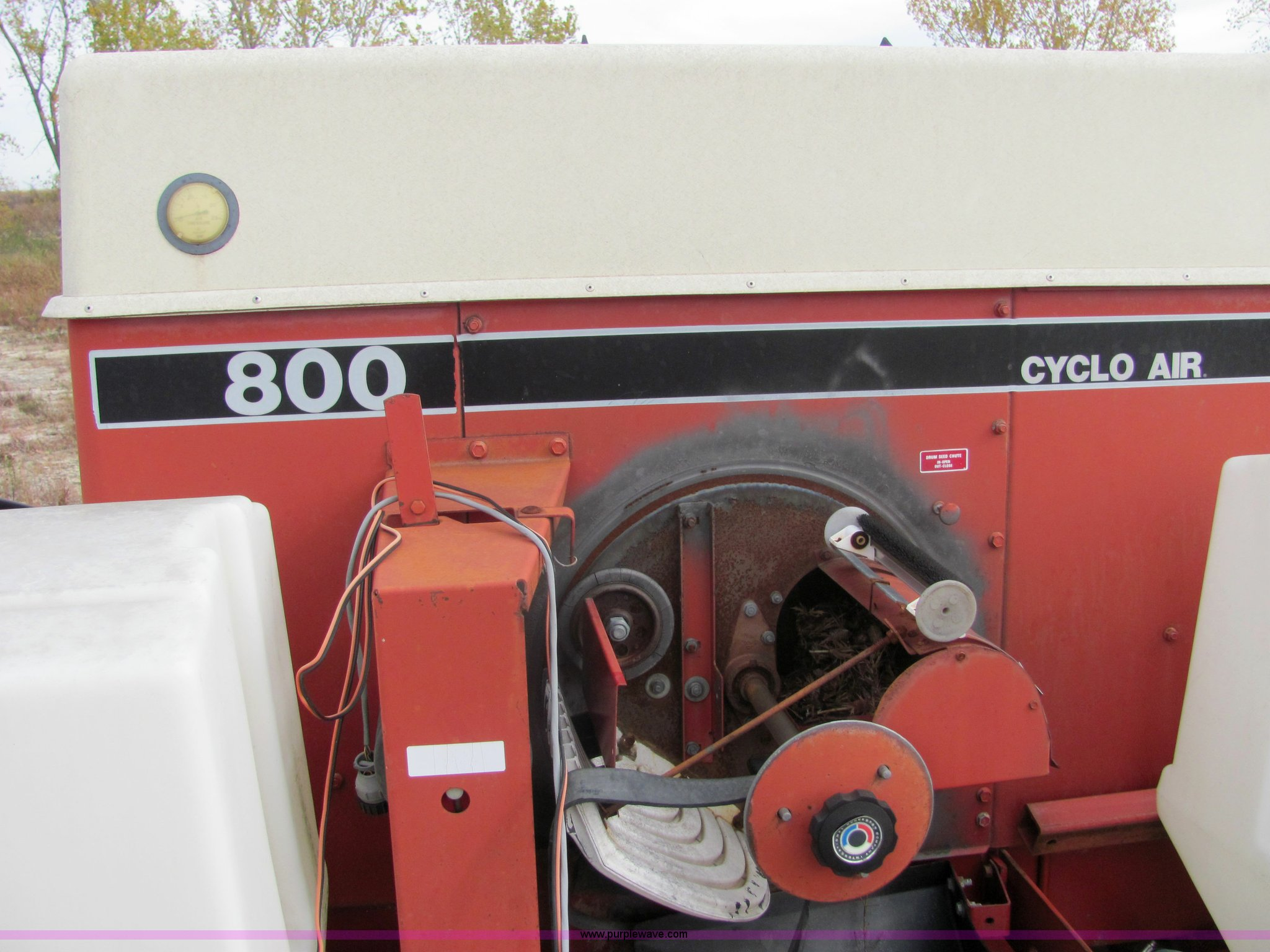Ih 800 cyclo Planter Manual
