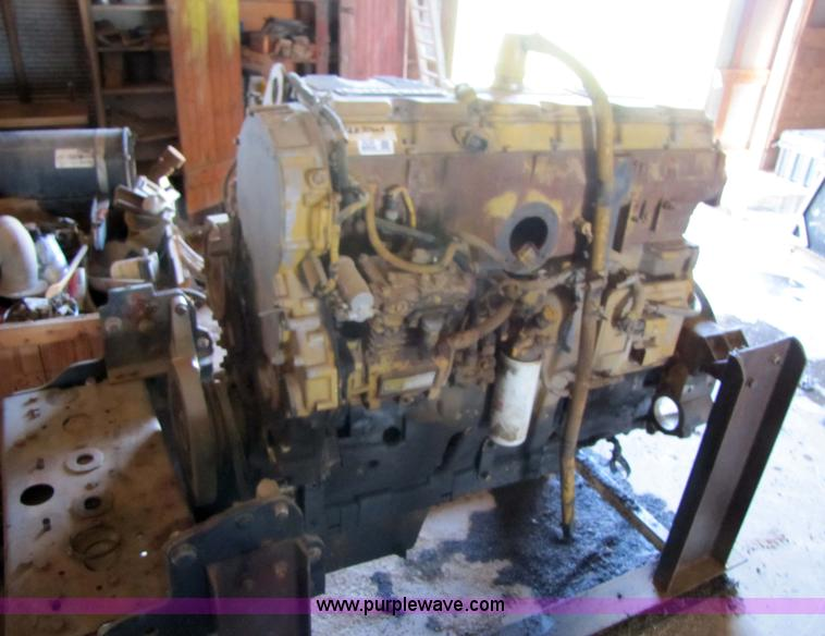 Caterpillar 3406E 15 8L six-cylinder turbocharged diesel eng